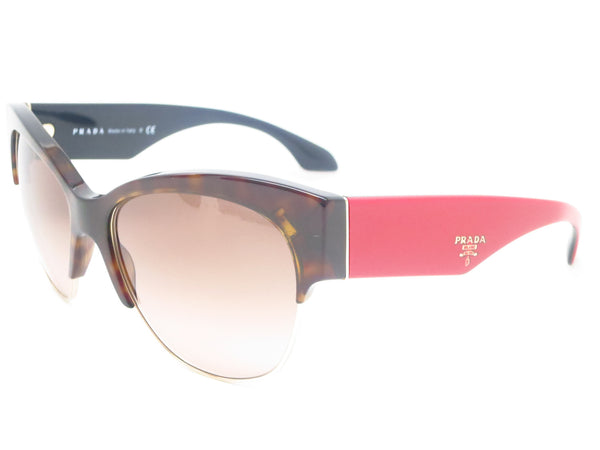 Prada SPR 11R 2AU-3D0 Havana Sunglasses - Eye Heart Shades - Prada - Sunglasses - 1