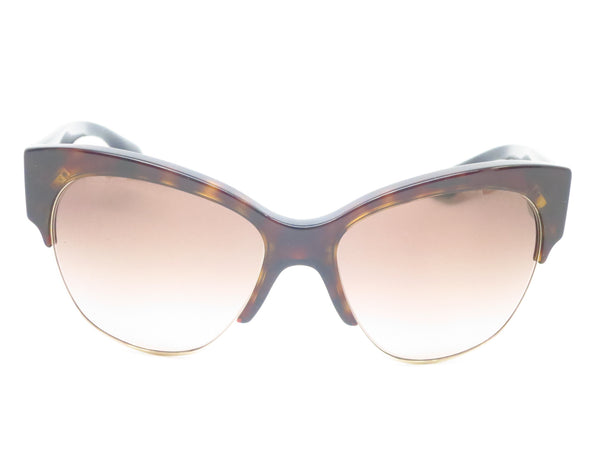 Prada SPR 11R 2AU-3D0 Havana Sunglasses - Eye Heart Shades - Prada - Sunglasses - 2