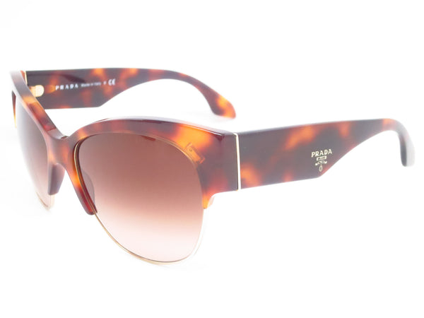 Prada SPR 11R TKR-6S1 Havana Sunglasses - Eye Heart Shades - Prada - Sunglasses - 1