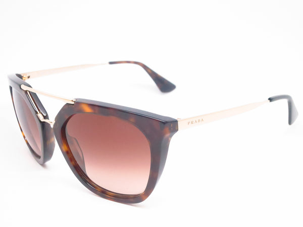 2411be4f6a4a7 Prada SPR 13Q 2AU-6S1 Havana Sunglasses - Eye Heart Shades - Prada -  Sunglasses