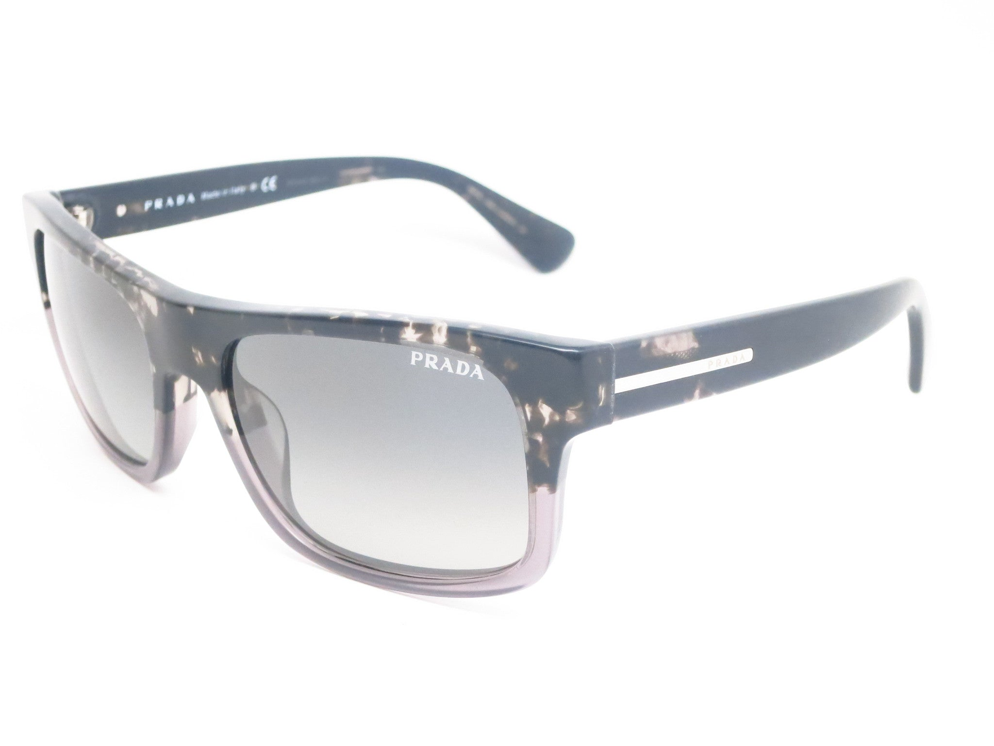 6f37ee0b367 Prada SPR 18P RO3-2D0 Spotted Black   Matte Grey Sunglasses - Eye Heart  Shades ...