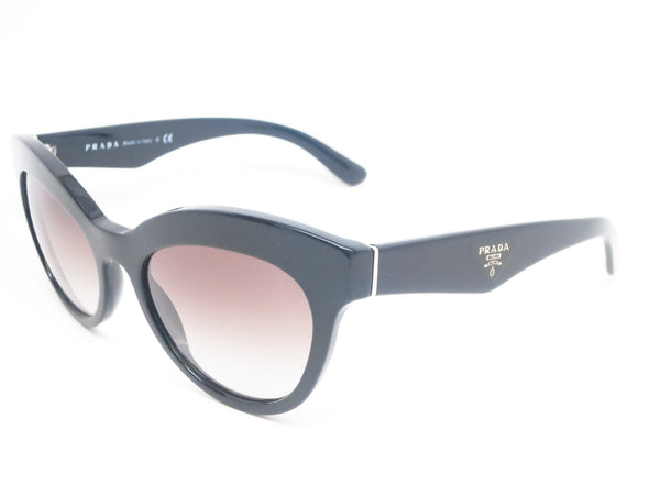 Prada SPR 23Q 1AB-0A7 Black Sunglasses - Eye Heart Shades - Prada - 1