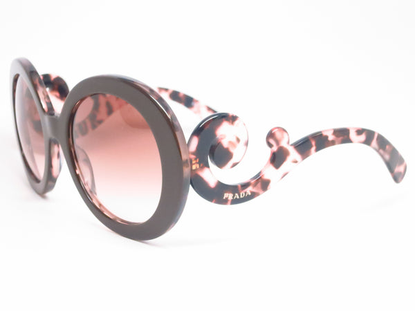 Prada SPR 27N ROL-0A6 Top Brown / Pink Havana Sunglasses - Eye Heart Shades - Prada - Sunglasses - 1
