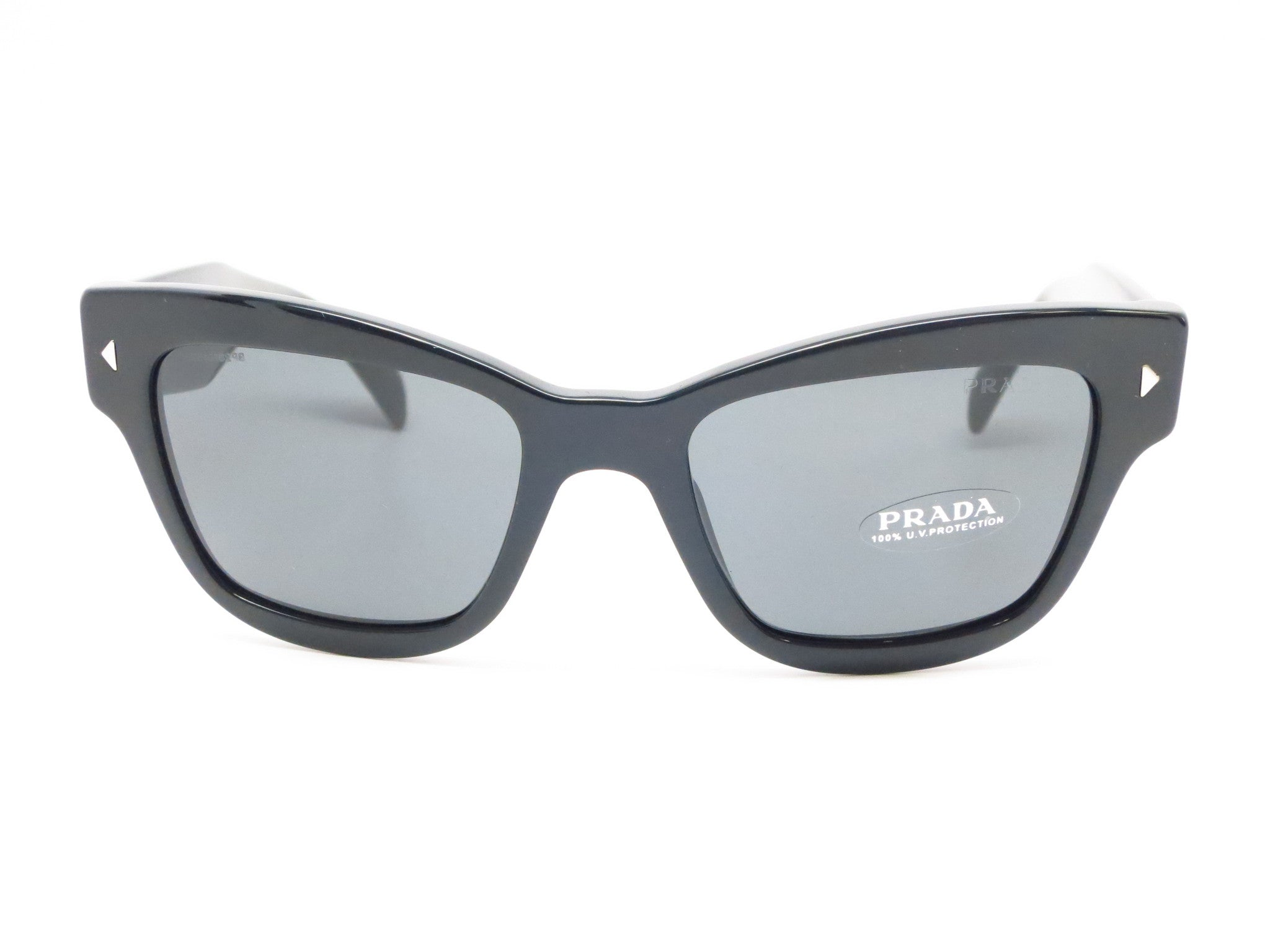 991def513 ... Prada SPR 29R 1AB-1A1 Black Sunglasses - Eye Heart Shades - Prada -  Sunglasses ...