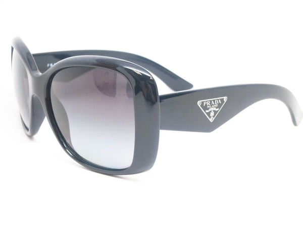 Prada SPR 32P 1AB-5W1 Black Polarized Sunglasses - Eye Heart Shades - Prada - Sunglasses - 1