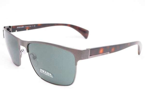 Prada SPR 51O DHG-3O1 Antique Brushed Gunmetal Sunglasses - Eye Heart Shades - Prada - Sunglasses - 1