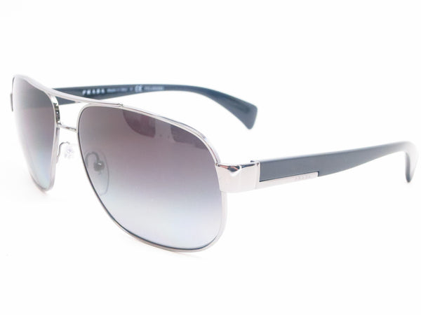Prada SPR 52P 5AV-5W1 Gunmetal Polarized Sunglasses - Eye Heart Shades - Prada - Sunglasses - 1