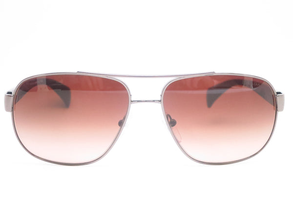 Prada SPR 52P 5AV-6S1 Gunmetal Sunglasses - Eye Heart Shades - Prada - Sunglasses - 2