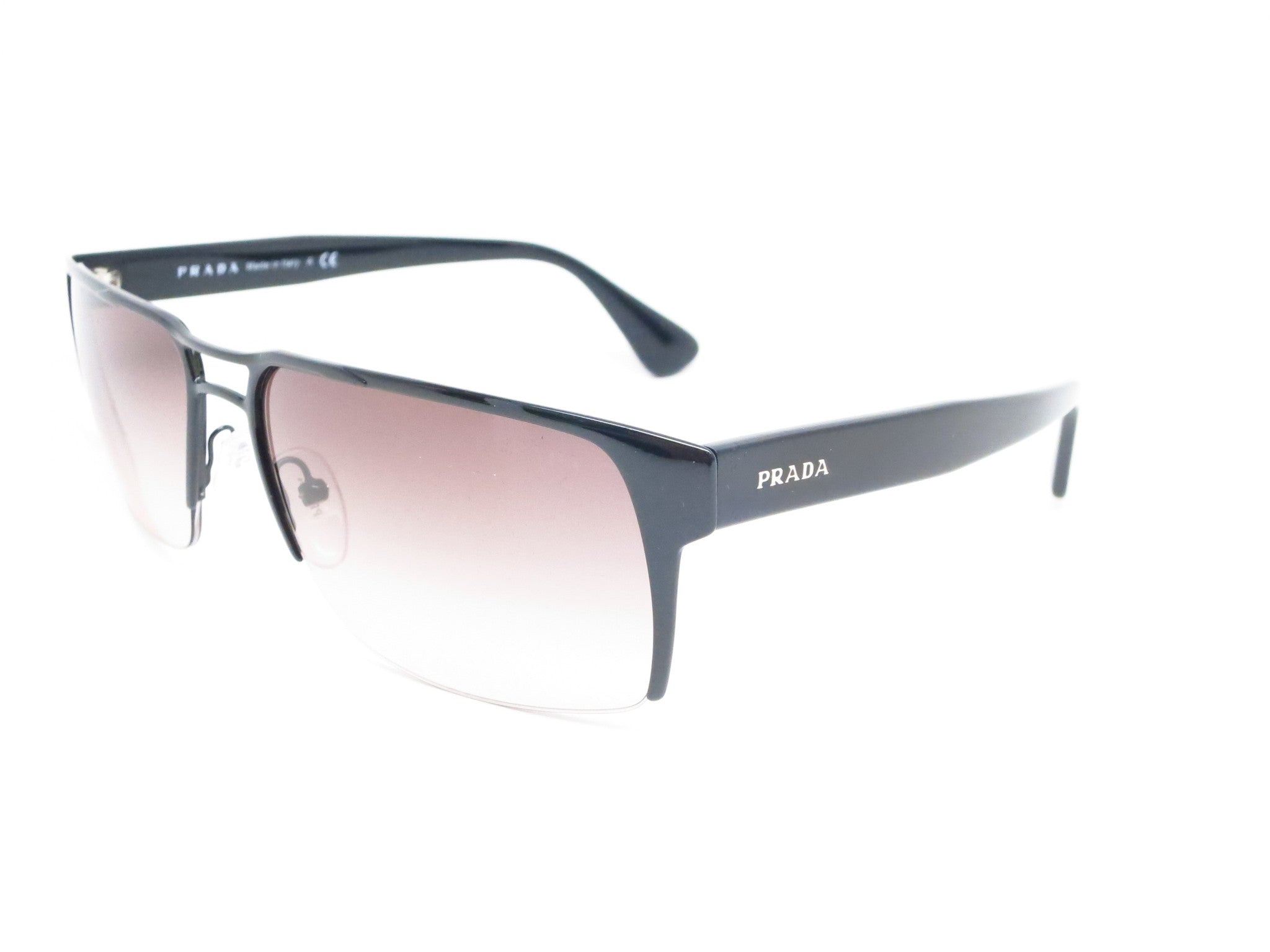 be827f375358c ... promo code for prada spr 52r 7ax 0a7 black sunglasses eye heart shades  prada sunglasses 972e9