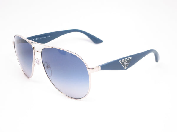 Prada SPR 53Q 1BC-8Z1 Silver Sunglasses - Eye Heart Shades - Prada - Sunglasses - 1