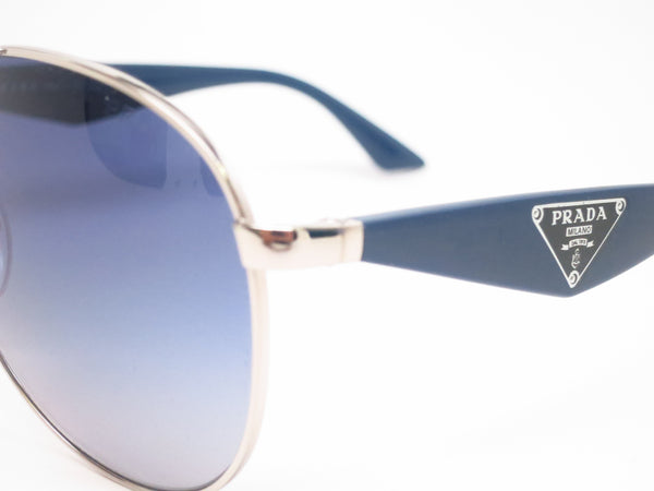 Prada SPR 53Q 1BC-8Z1 Silver Sunglasses - Eye Heart Shades - Prada - Sunglasses - 3