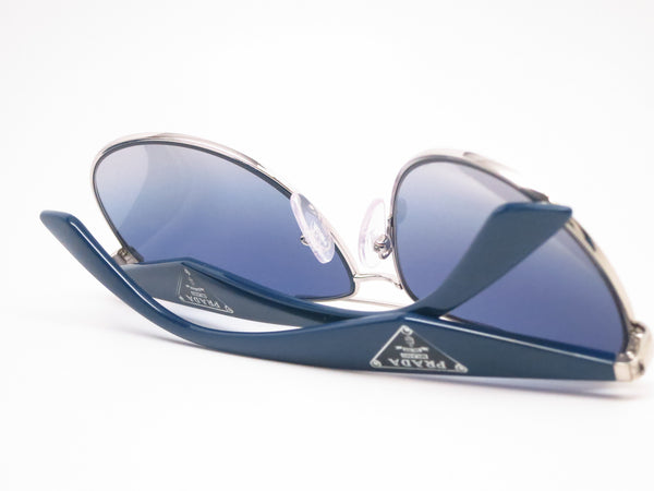 Prada SPR 53Q 1BC-8Z1 Silver Sunglasses - Eye Heart Shades - Prada - Sunglasses - 8