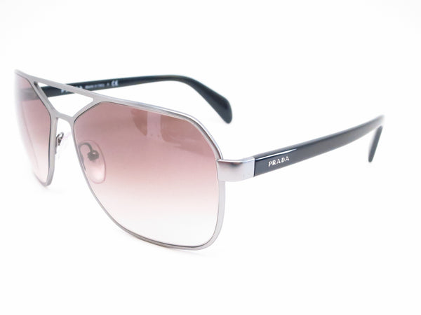 Prada SPR 54R 7CQ-0A7 Matte Gunmetal Sunglasses - Eye Heart Shades - Prada - Sunglasses - 1