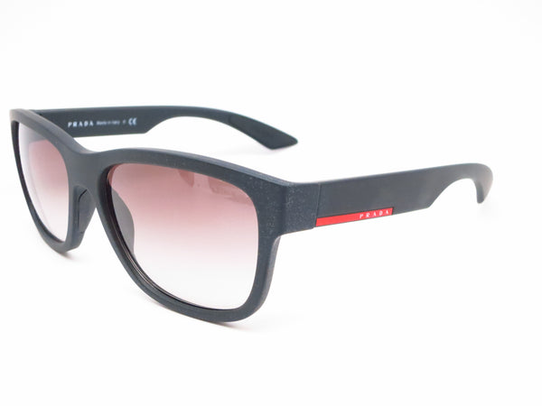 Prada Sport SPS 03Q DG0-0A7 Black Rubber Sunglasses - Eye Heart Shades - Prada - Sunglasses - 1