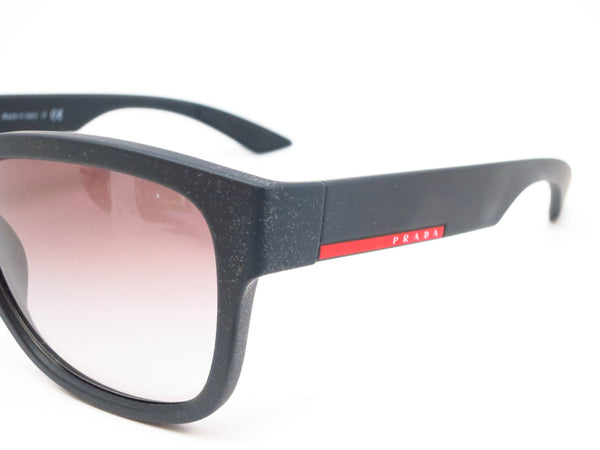 Prada Sport SPS 03Q DG0-0A7 Black Rubber Sunglasses - Eye Heart Shades - Prada - Sunglasses - 3