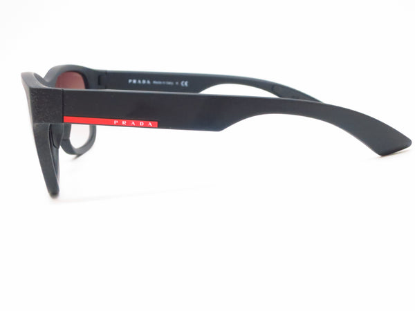 Prada Sport SPS 03Q DG0-0A7 Black Rubber Sunglasses - Eye Heart Shades - Prada - Sunglasses - 5