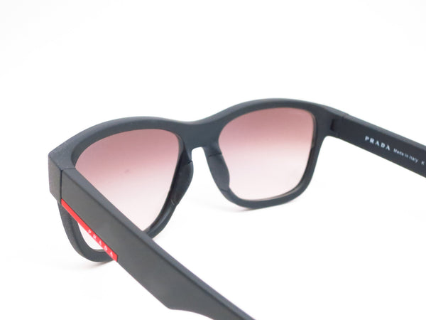 Prada Sport SPS 03Q DG0-0A7 Black Rubber Sunglasses - Eye Heart Shades - Prada - Sunglasses - 6
