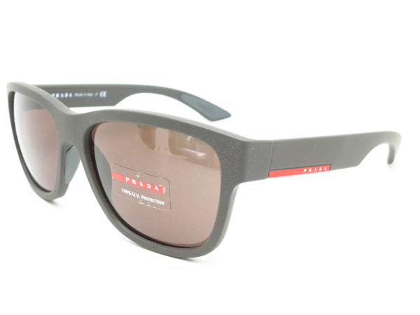 Prada Sport SPS 03Q UB0-4J1 Brown Rubber Sunglasses - Eye Heart Shades - Coach - Sunglasses - 1