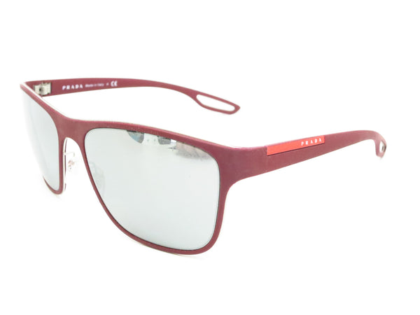 Prada Sport SPS 56Q TWM-7W1 Bordeaux Rubber Sunglasses - Eye Heart Shades - Prada - Sunglasses - 1