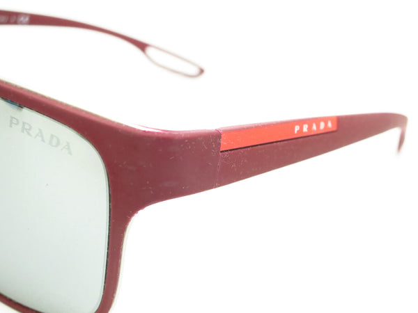 Prada Sport SPS 56Q TWM-7W1 Bordeaux Rubber Sunglasses - Eye Heart Shades - Prada - Sunglasses - 3