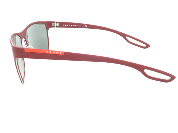 Prada Sport SPS 56Q TWM-7W1 Bordeaux Rubber Sunglasses - Eye Heart Shades - Prada - Sunglasses - 5
