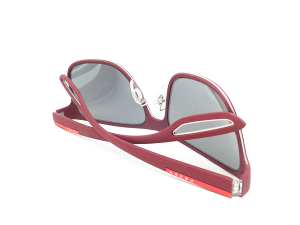 Prada Sport SPS 56Q TWM-7W1 Bordeaux Rubber Sunglasses - Eye Heart Shades - Prada - Sunglasses - 8