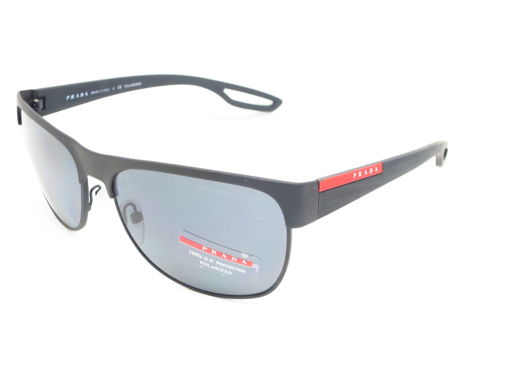 4d04064ca77f ... coupon for prada sport sps 57q tfz 1a0 grey rubber sunglasses eye heart  shades prada 64267