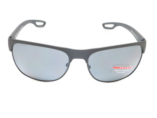 Prada Sport SPS 57Q TFZ-1A0 Grey Rubber Sunglasses - Eye Heart Shades - Prada - Sunglasses - 2