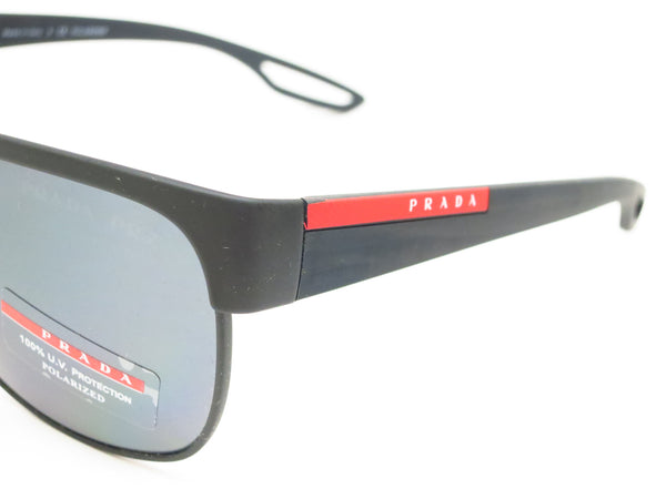 Prada Sport SPS 57Q TFZ-1A0 Grey Rubber Sunglasses - Eye Heart Shades - Prada - Sunglasses - 3