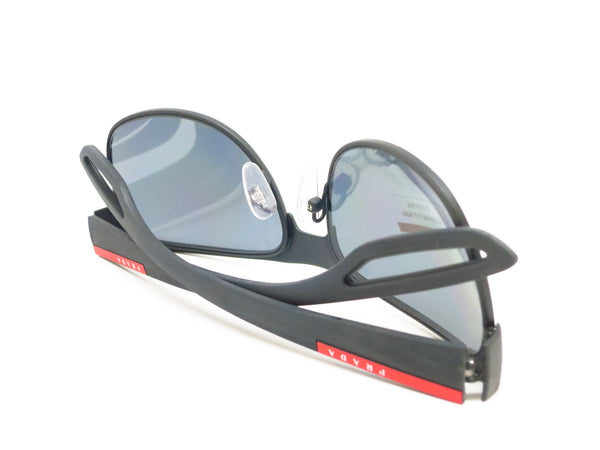 Prada Sport SPS 57Q TFZ-1A0 Grey Rubber Sunglasses - Eye Heart Shades - Prada - Sunglasses - 8