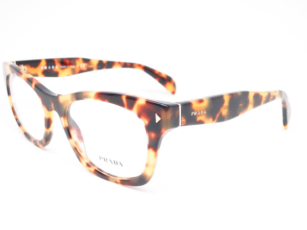 Prada VPR 11S 7S0-1O1 Medium Havana Eyeglasses - Eye Heart Shades - Prada - Eyeglasses - 1