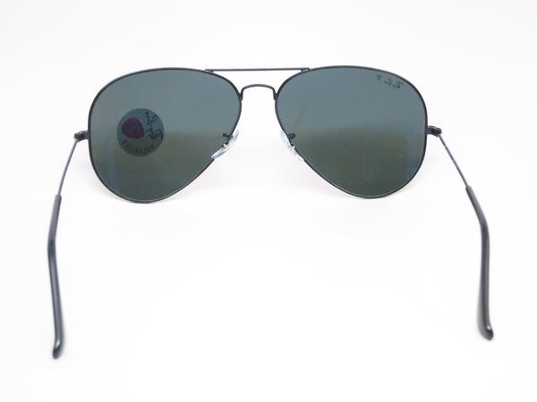 Ray-Ban RB 3025 Aviator Large Metal 002/58 Black Polarized Sunglasses - Eye Heart Shades - Ray-Ban - Sunglasses - 10