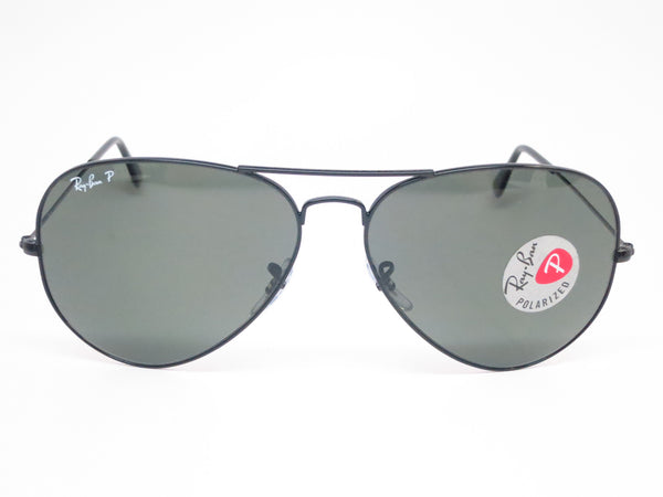 Ray-Ban RB 3025 Aviator Large Metal 002/58 Black Polarized Sunglasses - Eye Heart Shades - Ray-Ban - Sunglasses - 2