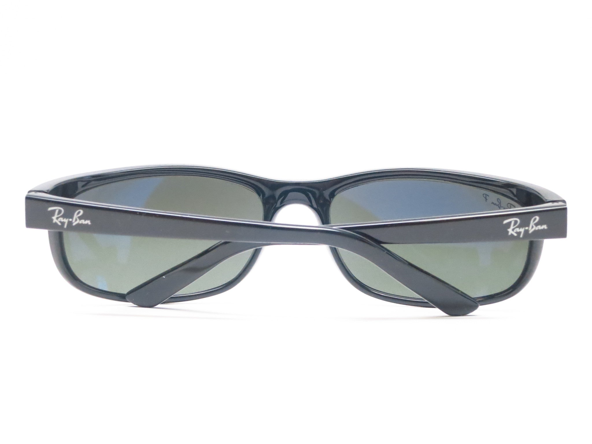 3f84d7b2c2 ... switzerland ray ban rb 2027 predator 2 601 w1 black polarized  sunglasses eye heart dd33d 62db2 ...