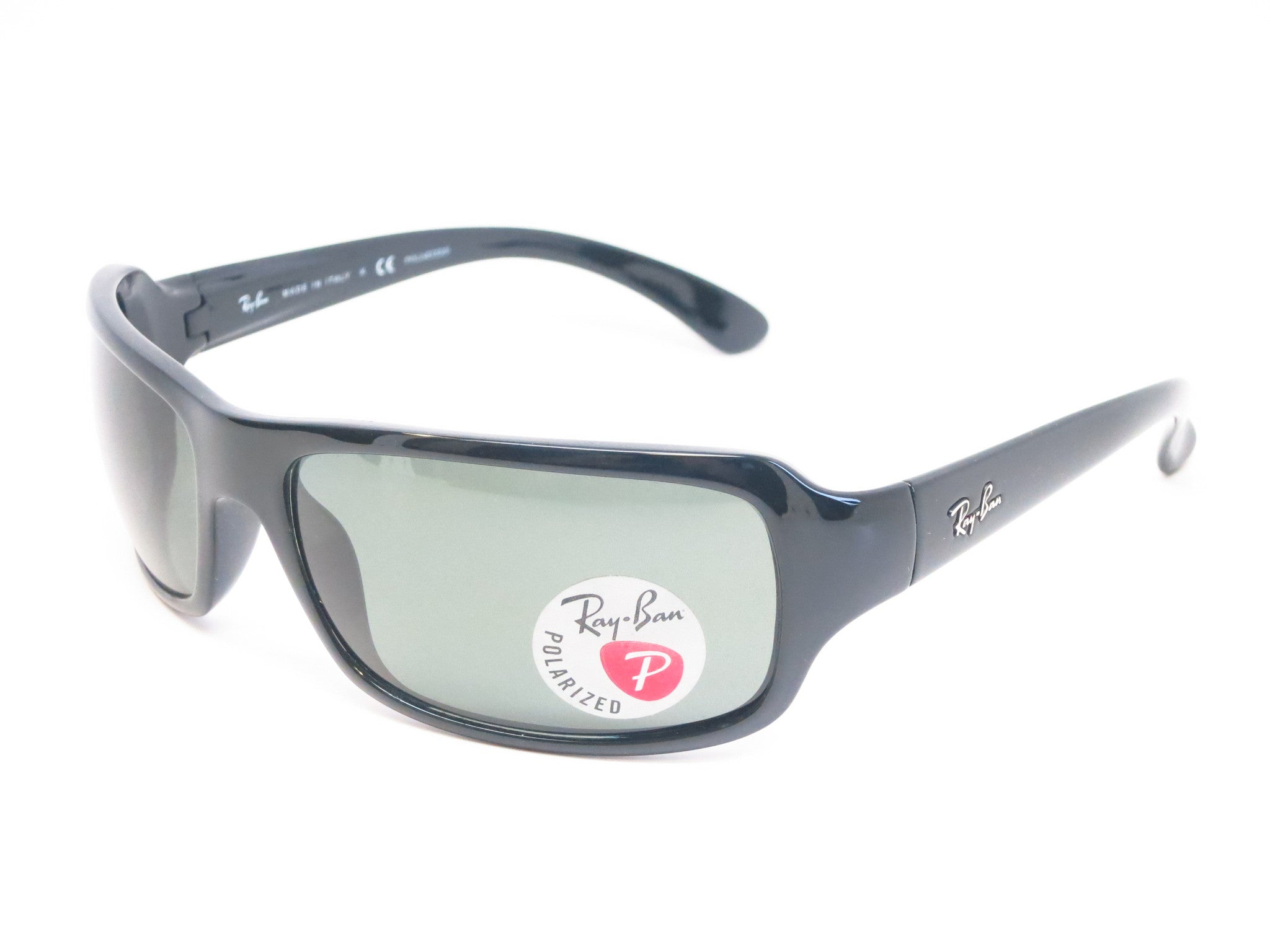 1136a2a2cbe Ray-Ban RB 4075 HighStreet 601 58 Black Sunglasses - RayBan - Eye Heart ...