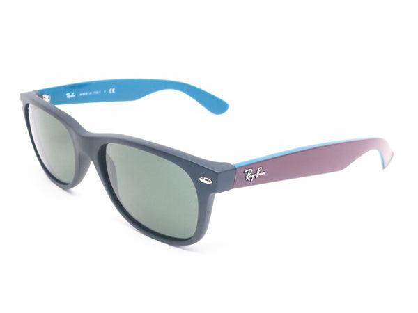 Ray-Ban RB 2132 New Wayfarer 6182 Matte Black Sunglasses - Eye Heart Shades - Ray-Ban - Sunglasses - 1