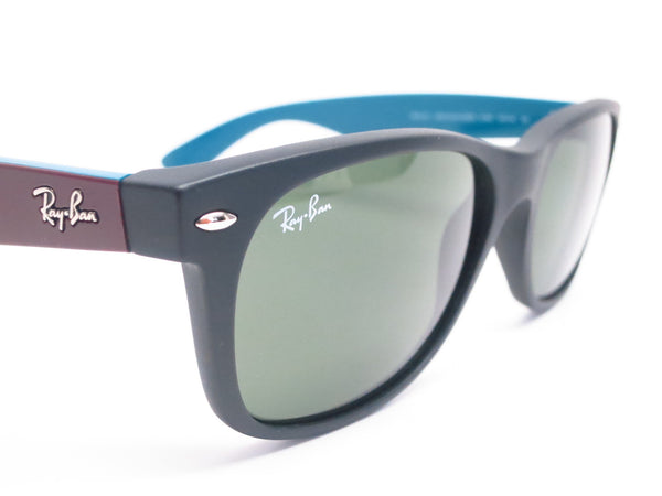 Ray-Ban RB 2132 New Wayfarer 6182 Matte Black Sunglasses - Eye Heart Shades - Ray-Ban - Sunglasses - 5