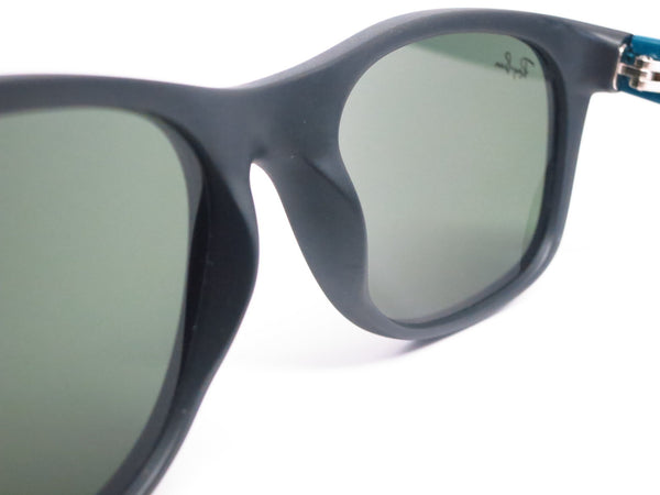 Ray-Ban RB 2132 New Wayfarer 6182 Matte Black Sunglasses - Eye Heart Shades - Ray-Ban - Sunglasses - 6
