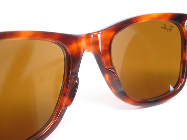 Ray-Ban RB 2140 Original Wayfarer 954 Light Tortoise Sunglasses - Eye Heart Shades - Ray-Ban - 10