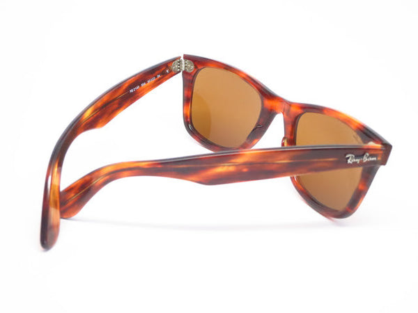 Ray-Ban RB 2140 Original Wayfarer 954 Light Tortoise Sunglasses - Eye Heart Shades - Ray-Ban - 13
