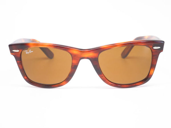 Ray-Ban RB 2140 Original Wayfarer 954 Light Tortoise Sunglasses - Eye Heart Shades - Ray-Ban - 3