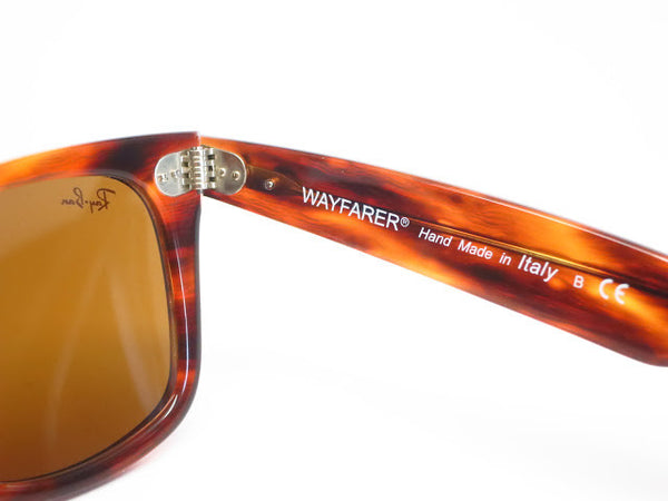 Ray-Ban RB 2140 Original Wayfarer 954 Light Tortoise Sunglasses - Eye Heart Shades - Ray-Ban - 7