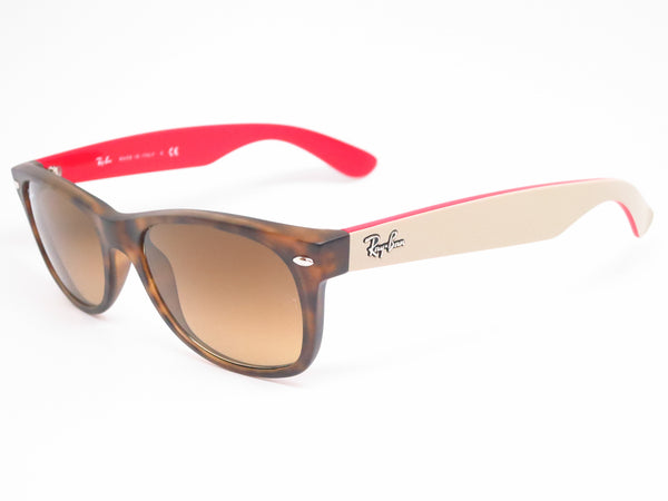 Ray-Ban RB 2132 New Wayfarer 6181/85 Matte Havana Sunglasses - Eye Heart Shades - Ray-Ban - 1