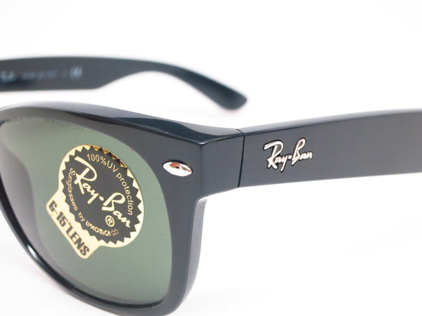 Ray-Ban RB 2132 New Wayfarer 901 & 901L Black Sunglasses - Eye Heart Shades - Eye Heart Shades - Sunglasses - 3