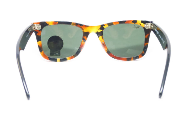 Ray-Ban RB 2140 Original Wayfarer 1157 Spotted Black Havana Sunglasses - Eye Heart Shades - Ray-Ban - Sunglasses - 10