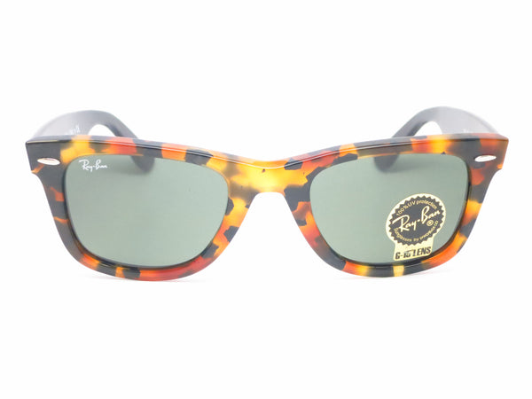 Ray-Ban RB 2140 Original Wayfarer 1157 Spotted Black Havana Sunglasses - Eye Heart Shades - Ray-Ban - Sunglasses - 2