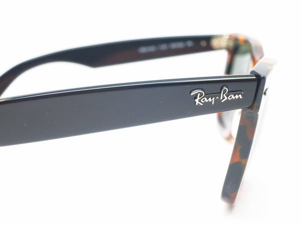 Ray-Ban RB 2140 Original Wayfarer 1157 Spotted Black Havana Sunglasses - Eye Heart Shades - Ray-Ban - Sunglasses - 4