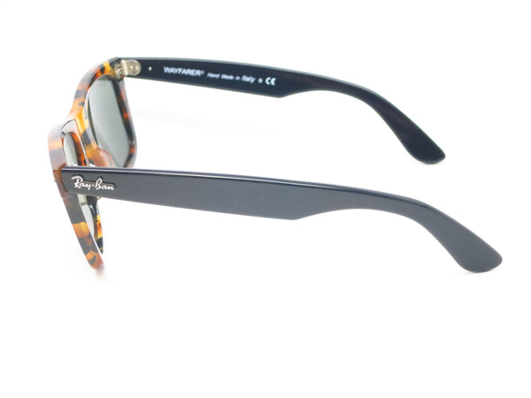 Ray-Ban RB 2140 Original Wayfarer 1157 Spotted Black Havana Sunglasses - Eye Heart Shades - Ray-Ban - Sunglasses - 5