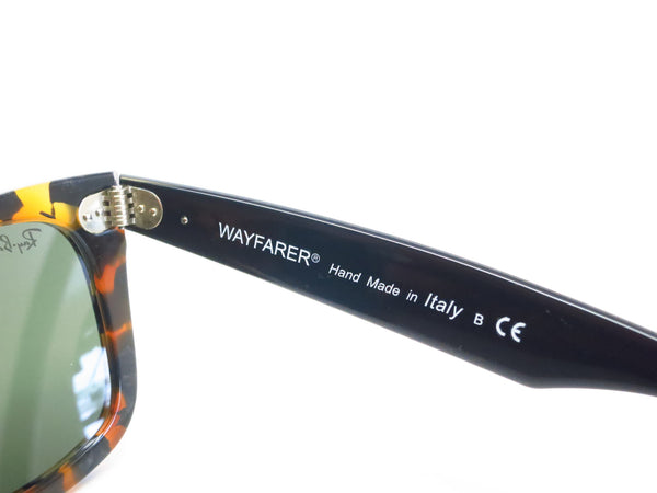 Ray-Ban RB 2140 Original Wayfarer 1157 Spotted Black Havana Sunglasses - Eye Heart Shades - Ray-Ban - Sunglasses - 6