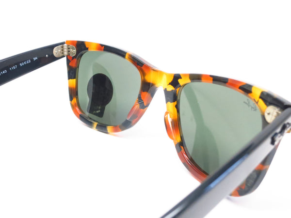 Ray-Ban RB 2140 Original Wayfarer 1157 Spotted Black Havana Sunglasses - Eye Heart Shades - Ray-Ban - Sunglasses - 8